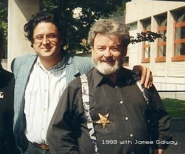 1993 with James Galway