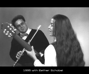 1995 with Esther Schobel